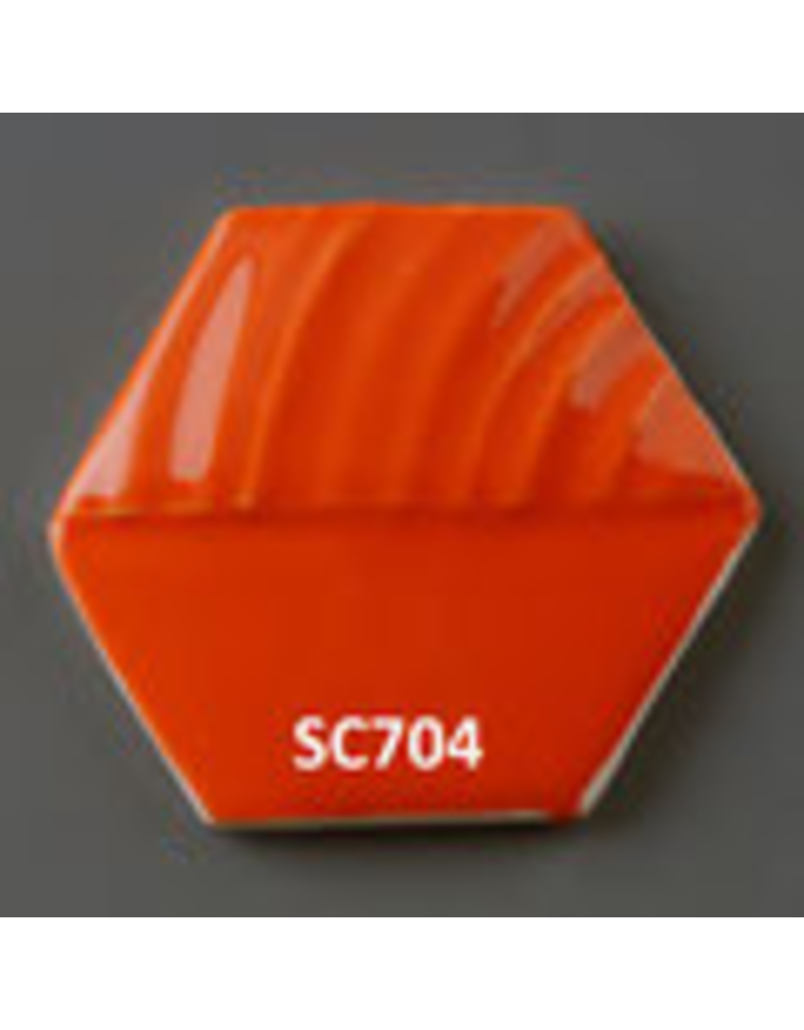 Sneyd Orange (Zr,Si,Cd,Se) Glaze Stain