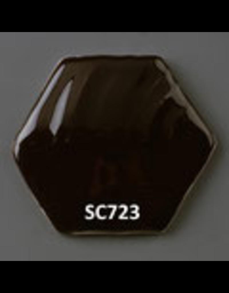 Sneyd Brown (Fe, Cr, Zn, Ni) Glaze Stain