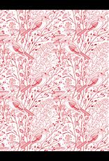 Sanbao Birds & Branches (underglaze decal - 16cm x 22cm)