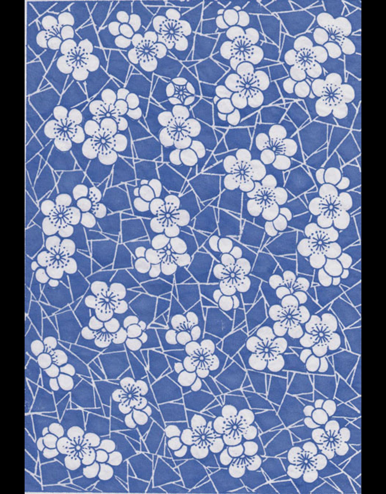 Sanbao Cherry flower decal 4 (underglaze decal - 16cm x 22cm)