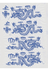 Sanbao Dragon (underglaze decal - 16cm x 22cm)