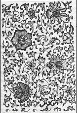 Sanbao Flower Decal 03 (Underglaze Decal - 16cm x 22cm)