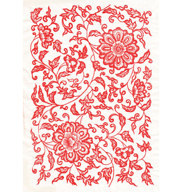 Sanbao Flower decal 07