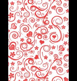 Sanbao Pattern – Swirly Heart