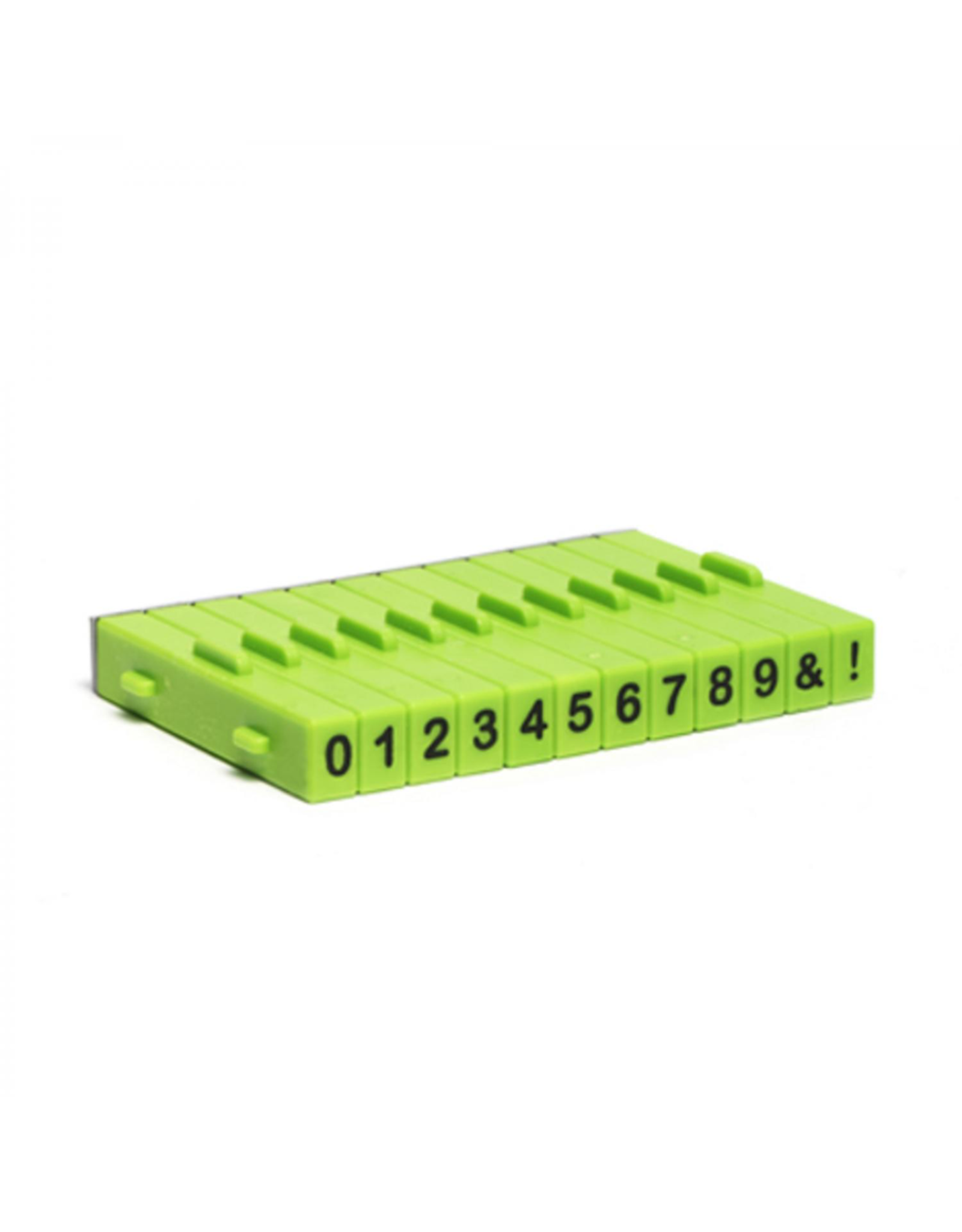 Xiem Attachable Number Stamp Set (12PCS)