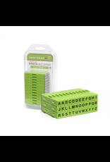 Xiem Attachable Letters Stamp Set 36 PCS Upper Case
