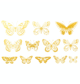 Sanbao Gold Butterfly 01 Decal
