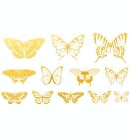 Sanbao Gold Butterfly 02 Decal