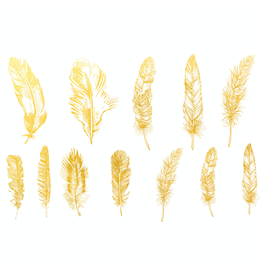 Sanbao Gold Feather 01 Decal