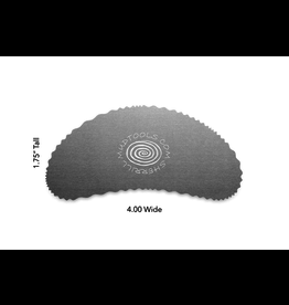 Mudtools Bean Drawing Rib - Edge 4 Tight Wave
