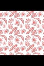 Sanbao Leaf- Tropical Palm (underglaze decal - 16cm x 22cm)