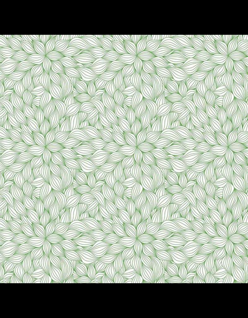 Sanbao Leaf -Petal (underglaze decal - 16cm x 22cm)