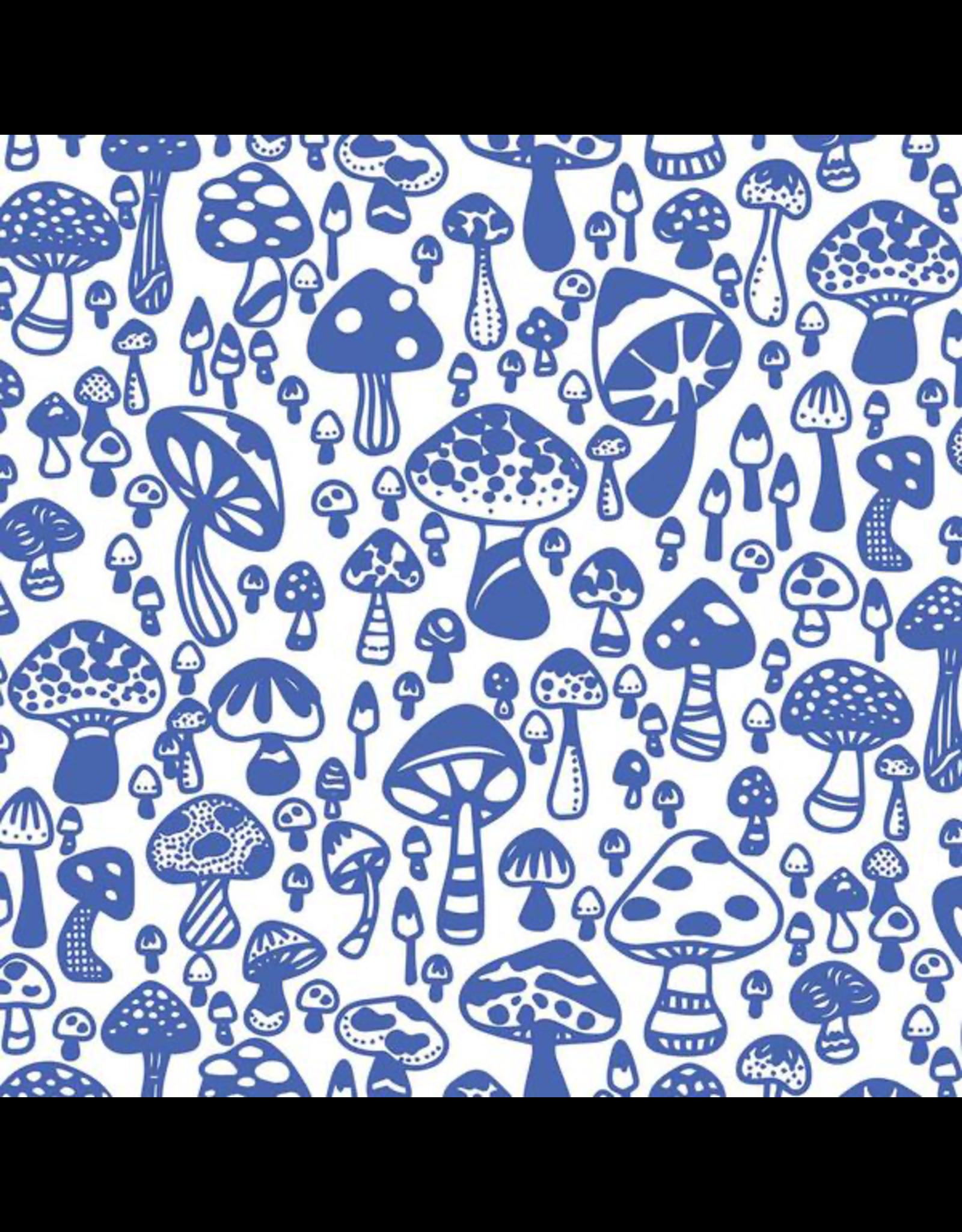 Sanbao Clayshare- Wild mushroom (underglaze decal - 16cm x 22cm)