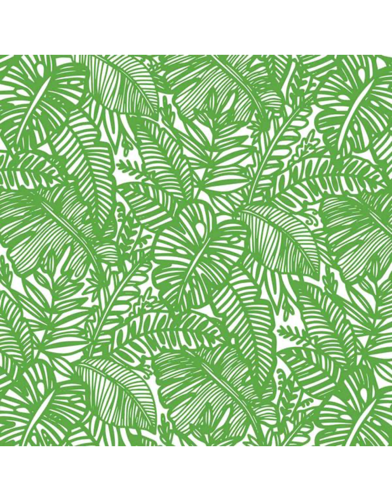 Sanbao Clayshare-Jungle Leaf (underglaze decal - 16cm x 22cm)