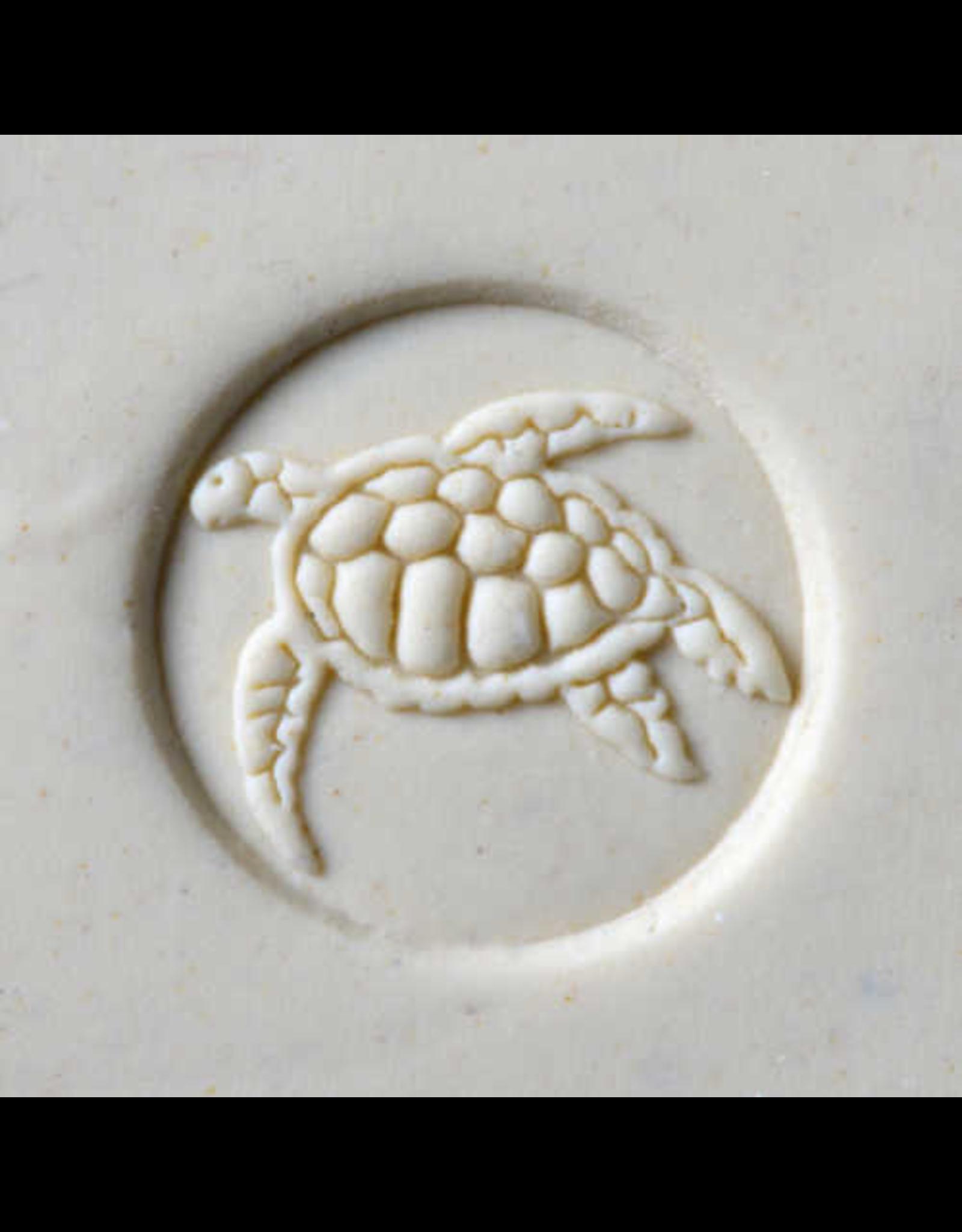 Sea Turtle 2 stamp (2.5cm)
