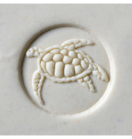 Sea Turtle 2 stamp (2.5cm)