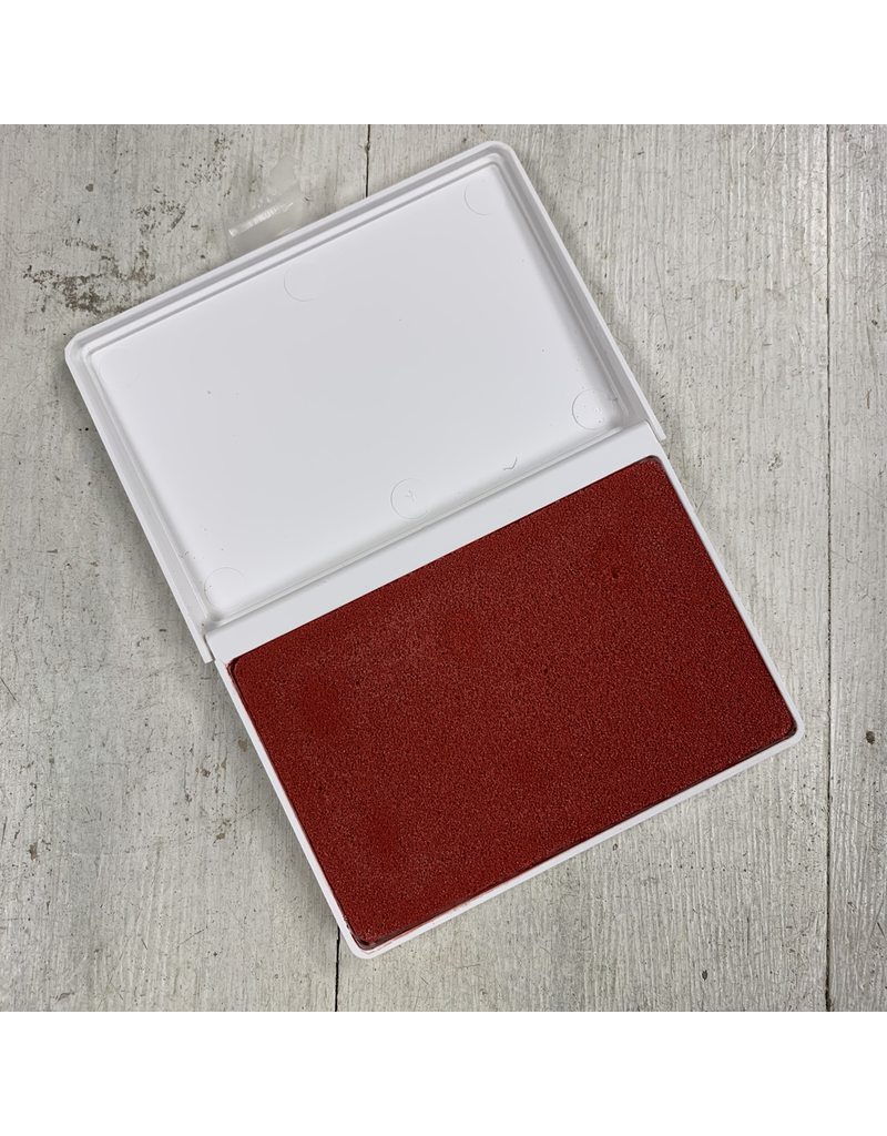 Bright Red Potter's stamp pad