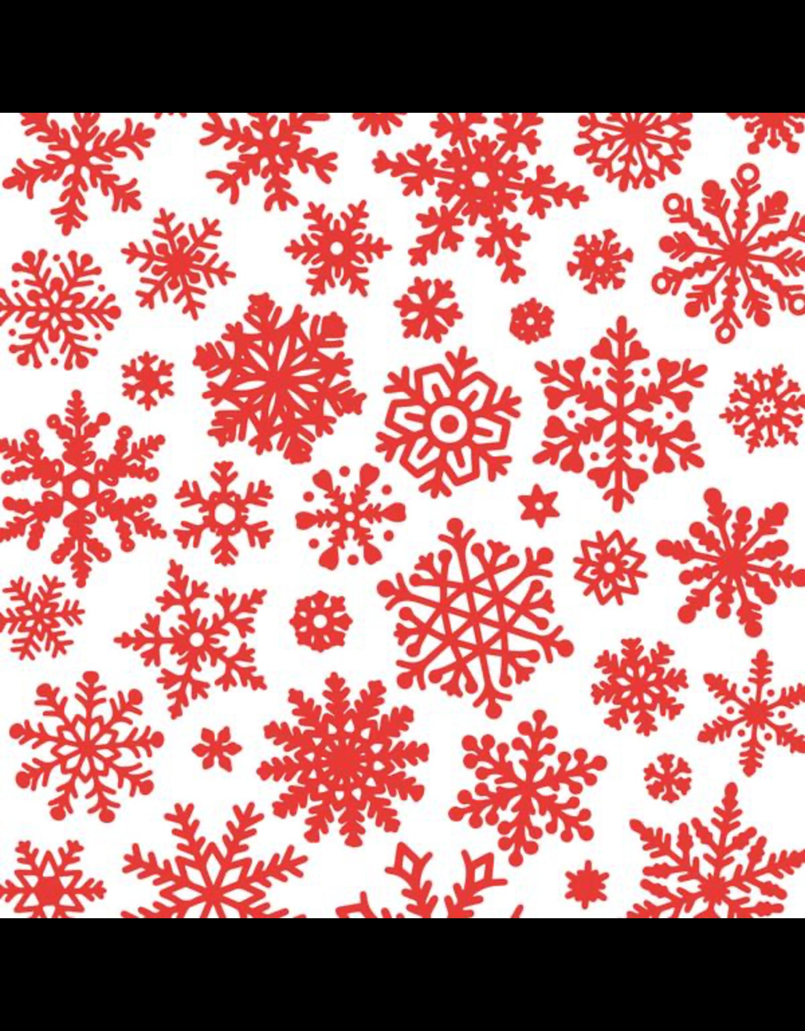 Sanbao Clayshare - Snowflake (underglaze decal - 16cm x 22cm)