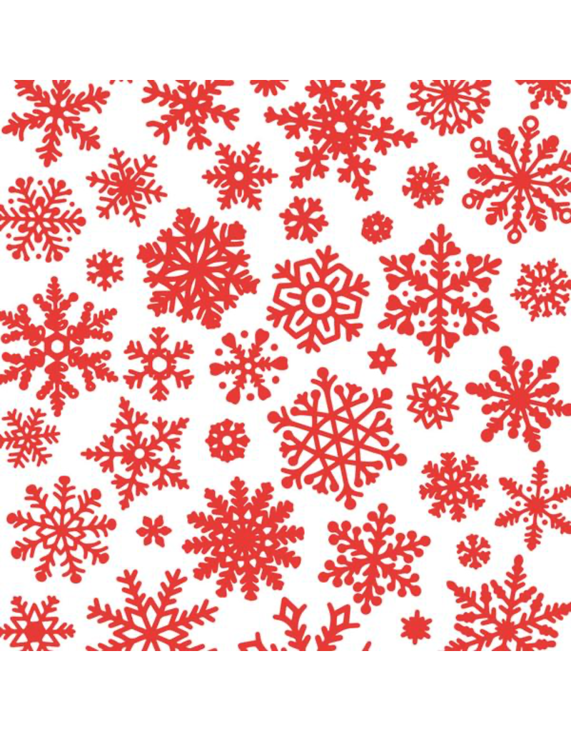 Sanbao Clayshare Decal - Snowflake (Underglaze Decal - 16cm x 22cm)