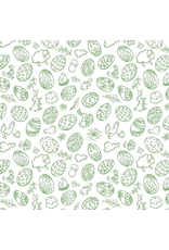Sanbao Easter 1 (underglaze decal - 16cm x 22cm)