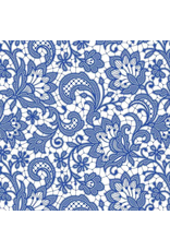 Sanbao Floral Lace (underglaze decal - 16cm x 22cm)