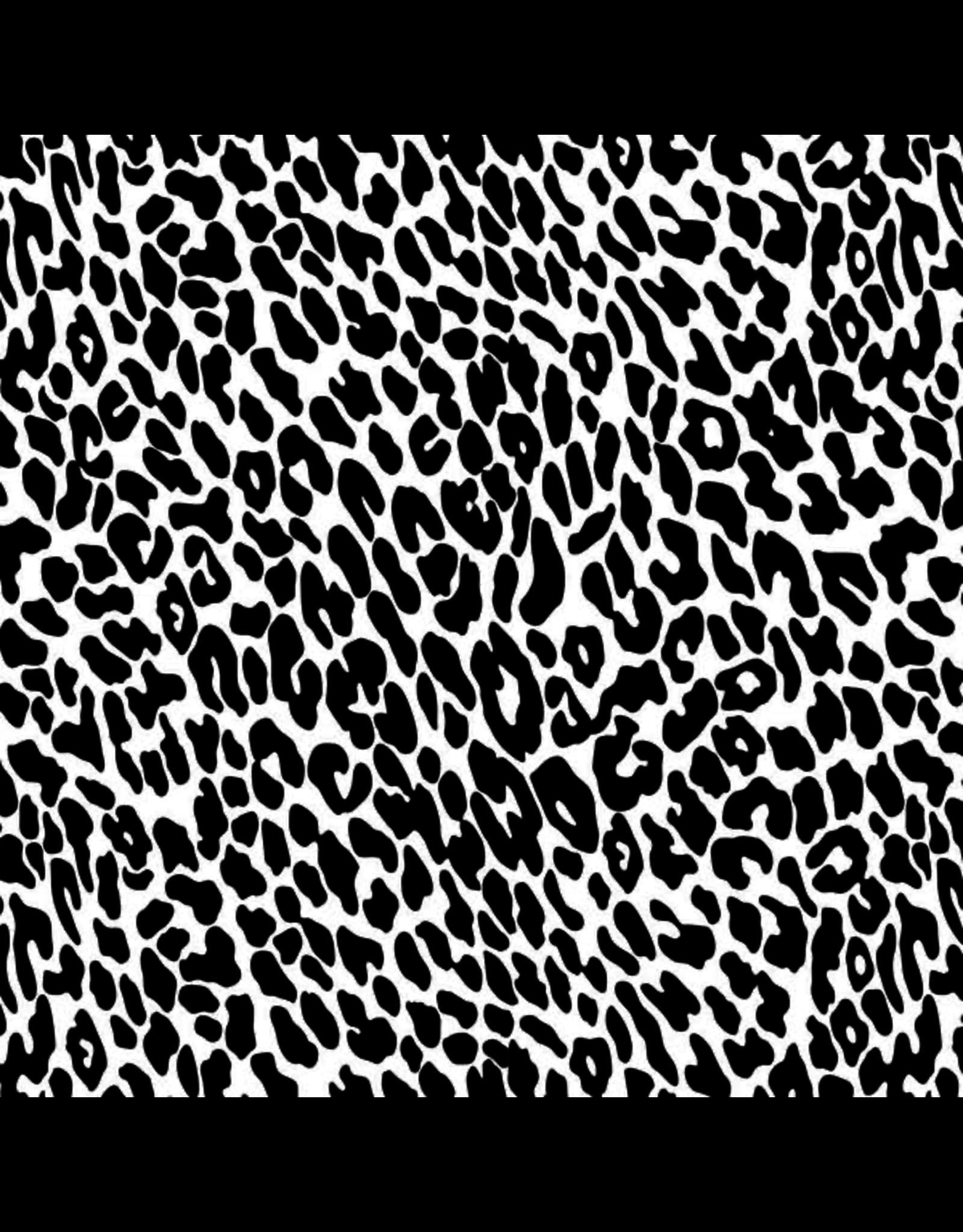 Sanbao Pattern- Leopard print  (underglaze decal - 16cm x 22cm)