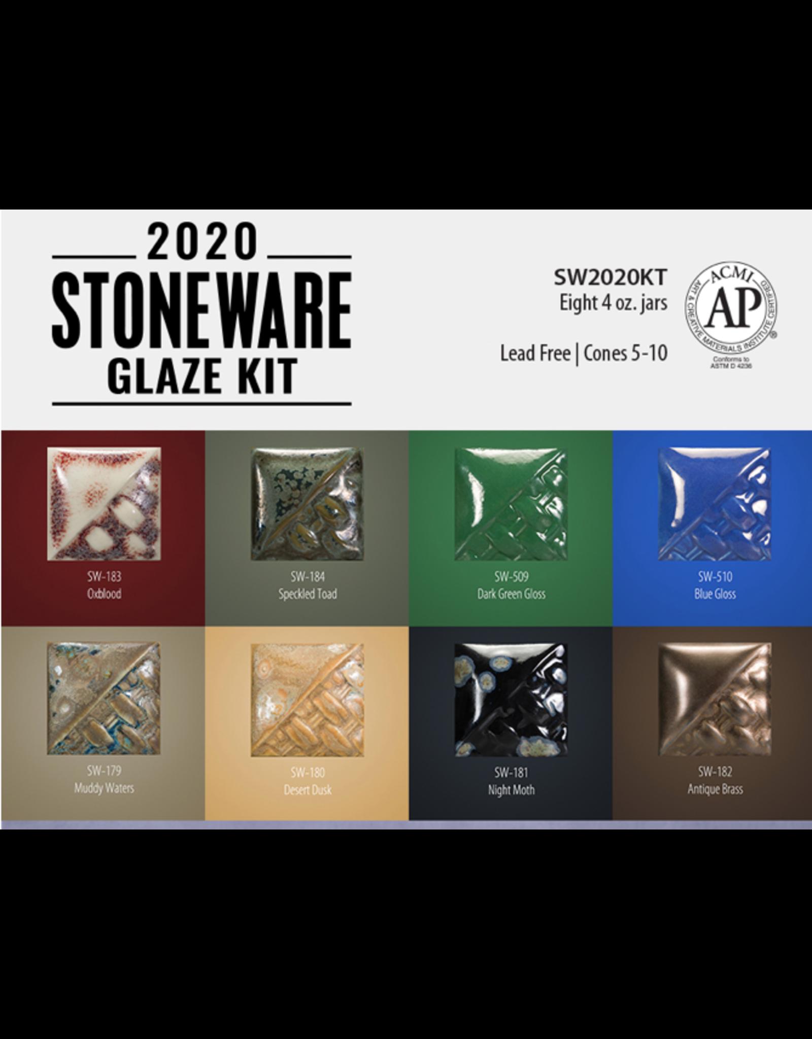 Mayco 2020 Stoneware Glaze Kit Mayco Stoneware Brush-on Glaze 473ml