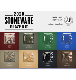 Mayco 2020 Stoneware Glaze Kit