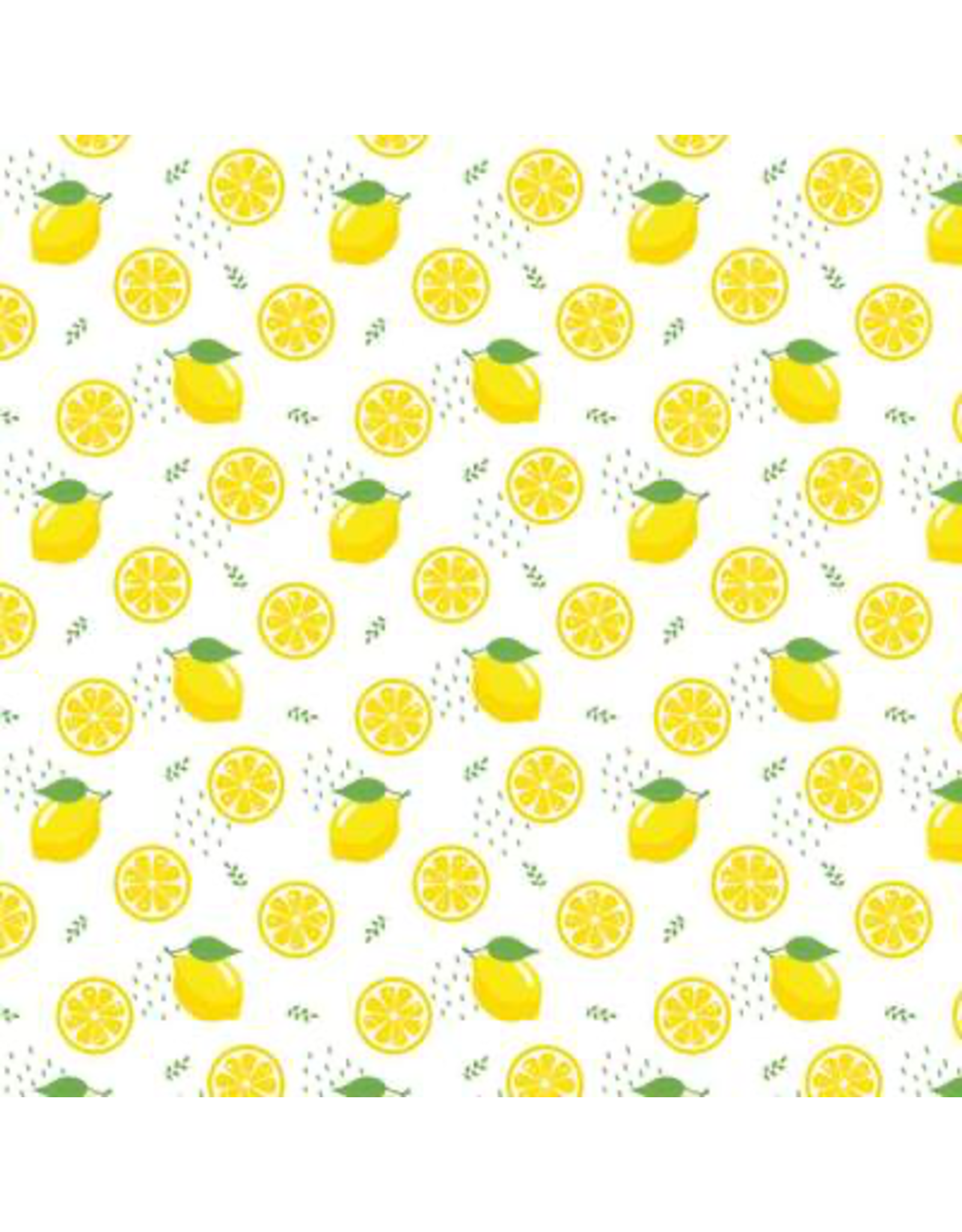 Sanbao Fresh Lemon  (underglaze decal - 16cm x 22cm)