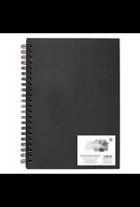 Spiral bound sketchbook