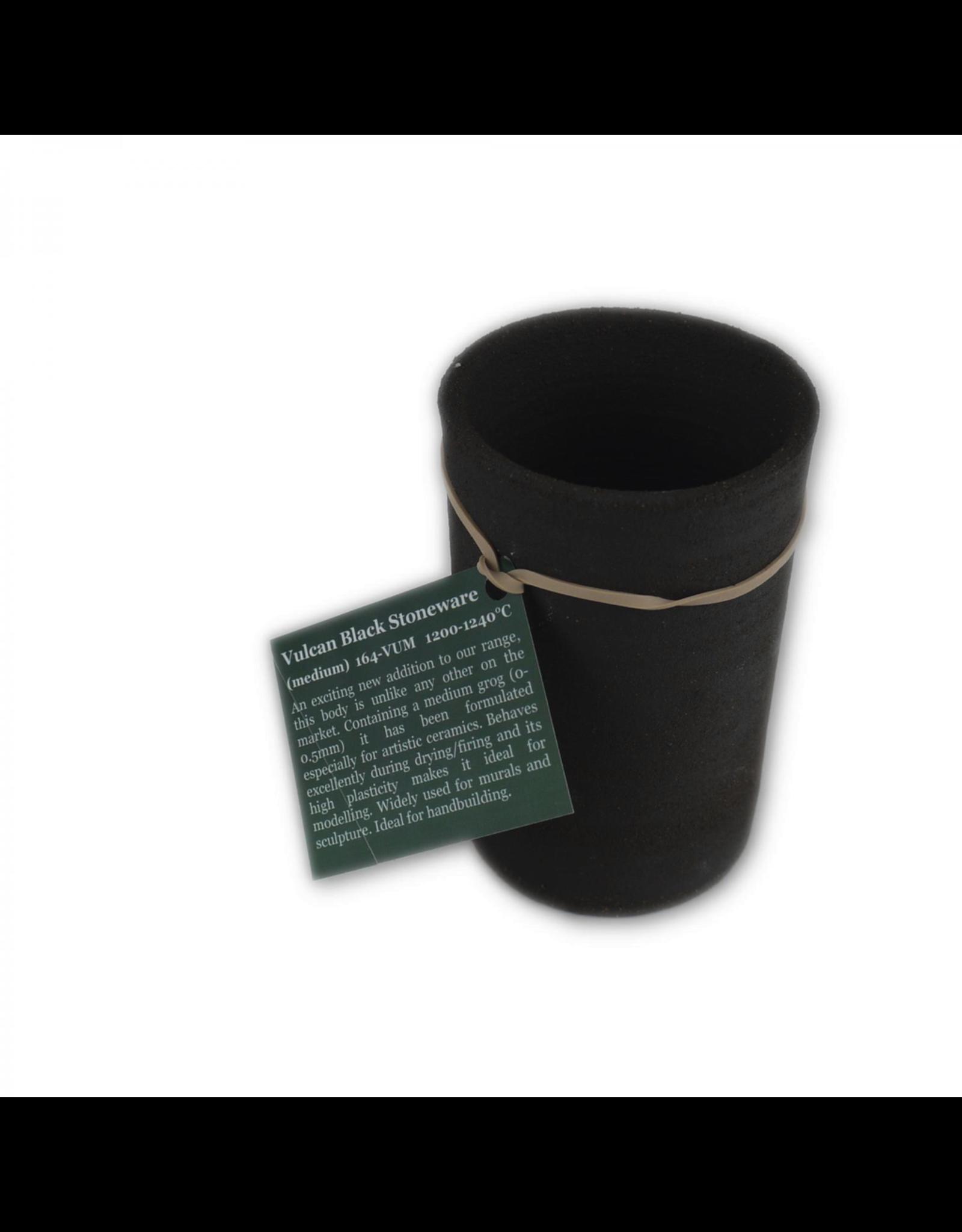 Potclays Vulcan Black Stoneware (Medium) 1200-1260°C