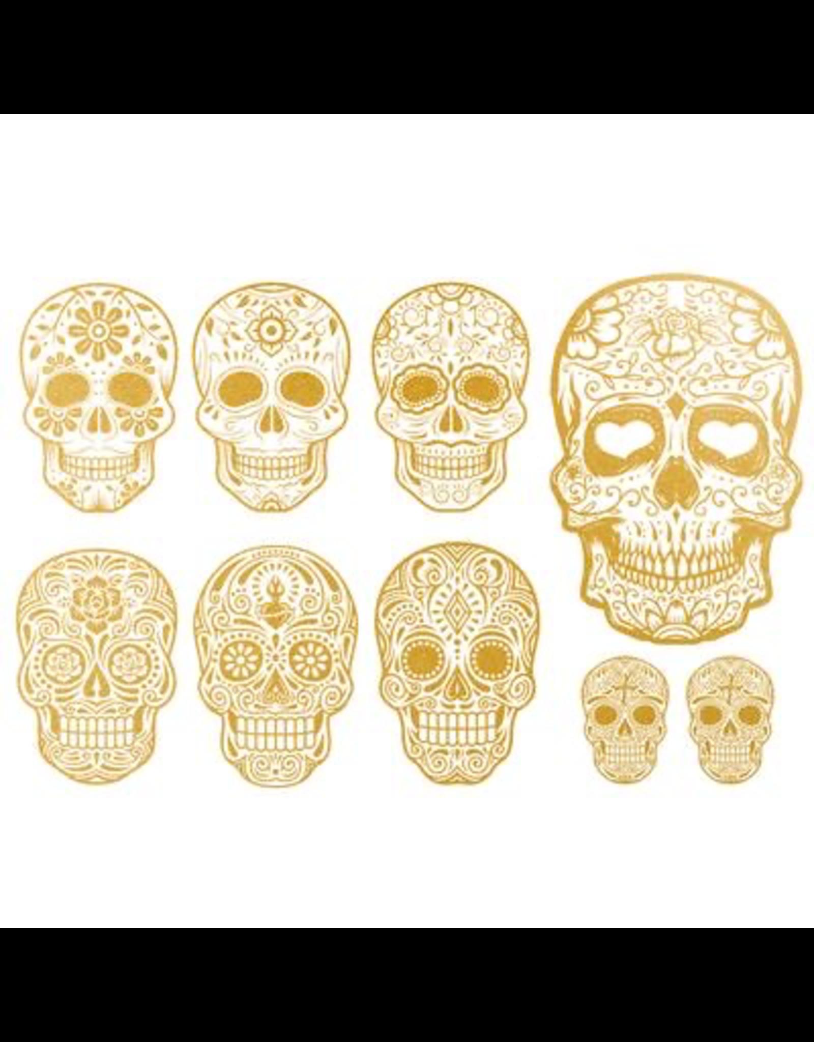 Sanbao Gold Skull