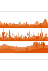 Sanbao Arizona Desert  (underglaze decal - 16cm x 22cm)