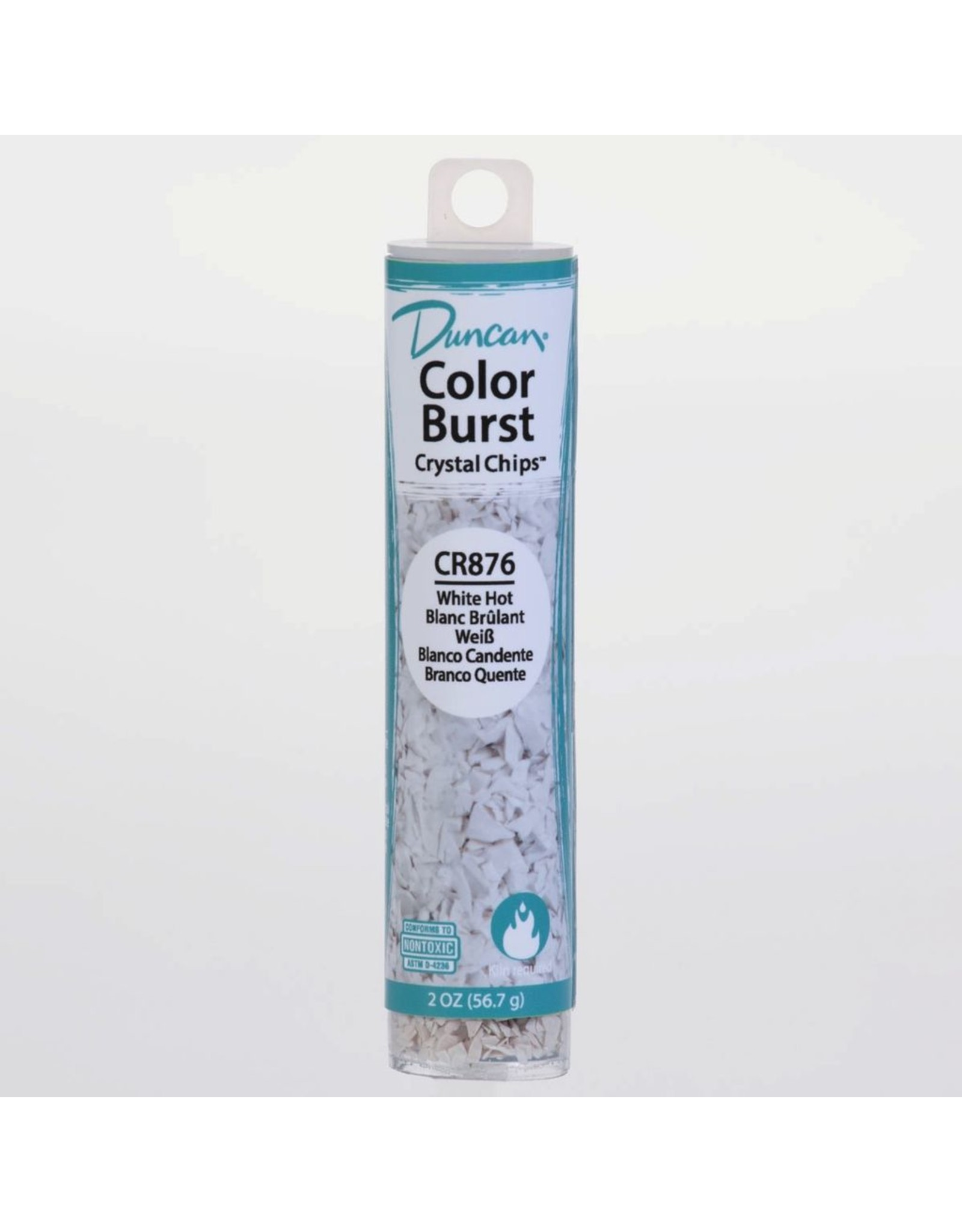 Potterycrafts Duncan Colour Burst Crystal Chips White Hot