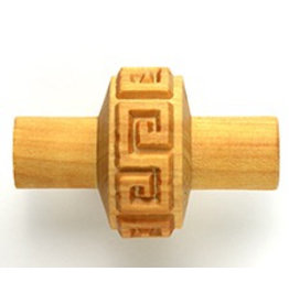 MKM tools Impressed Greek key pattern roller