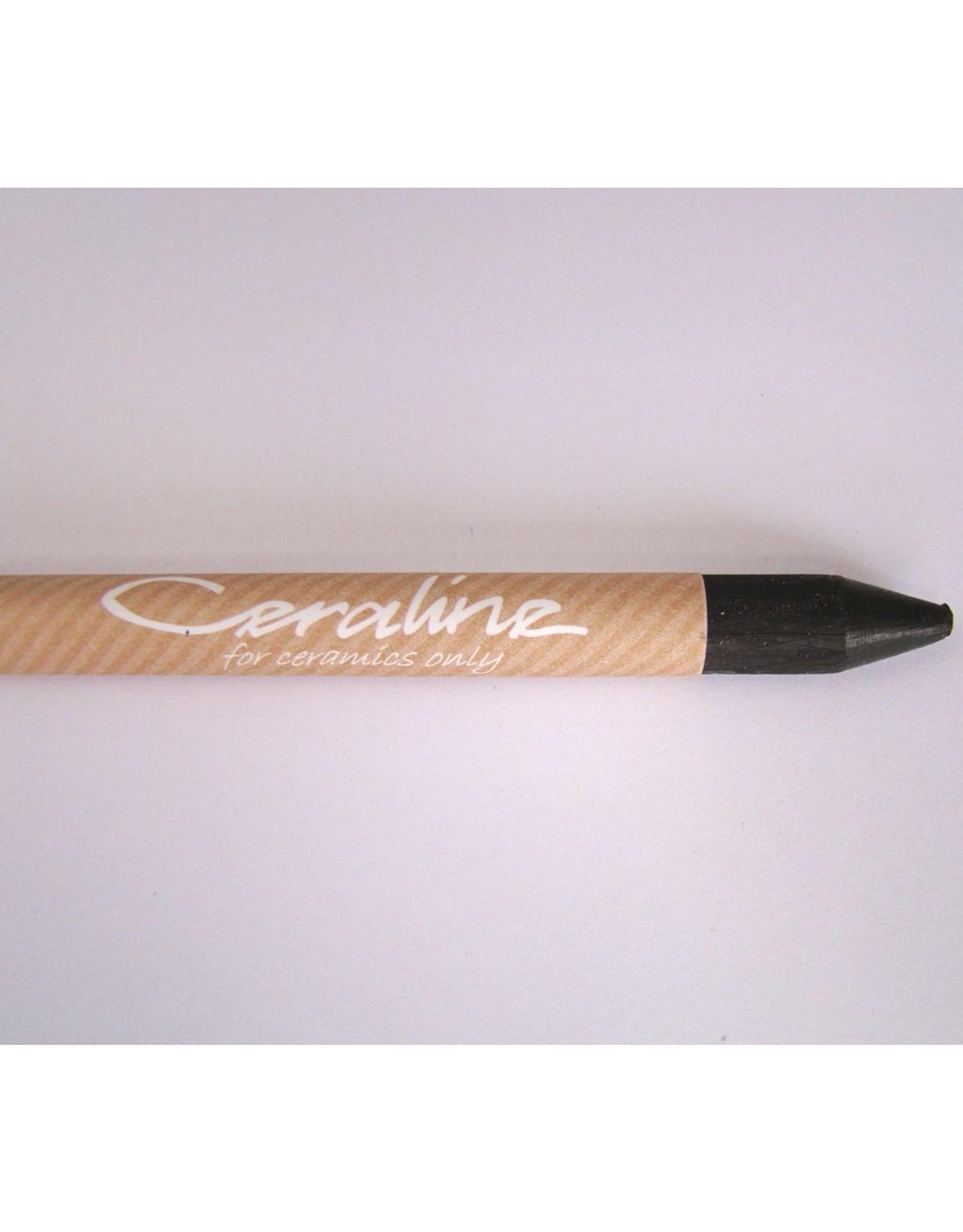 Ceraline Earthenware Crayon Black