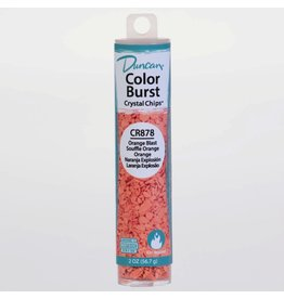 Potterycrafts Duncan Colour Burst Crystal Chips Orange Blast