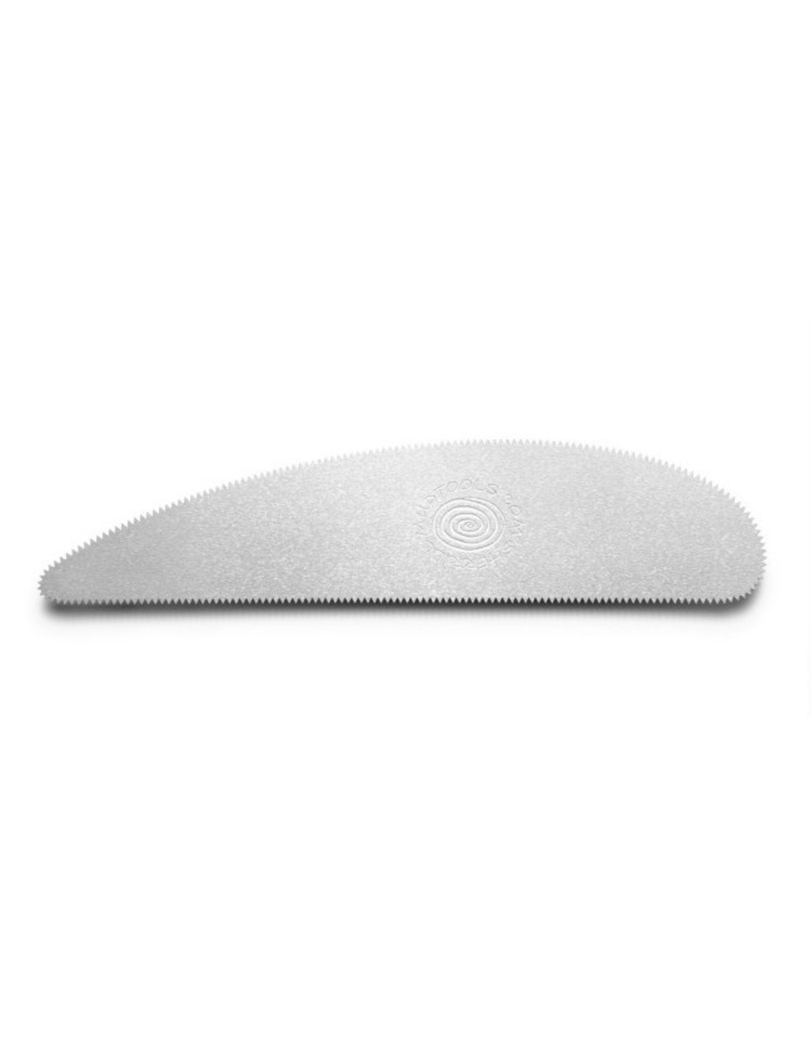 Mudtools Long Scraper Rib (fine Serrated) stainless steel