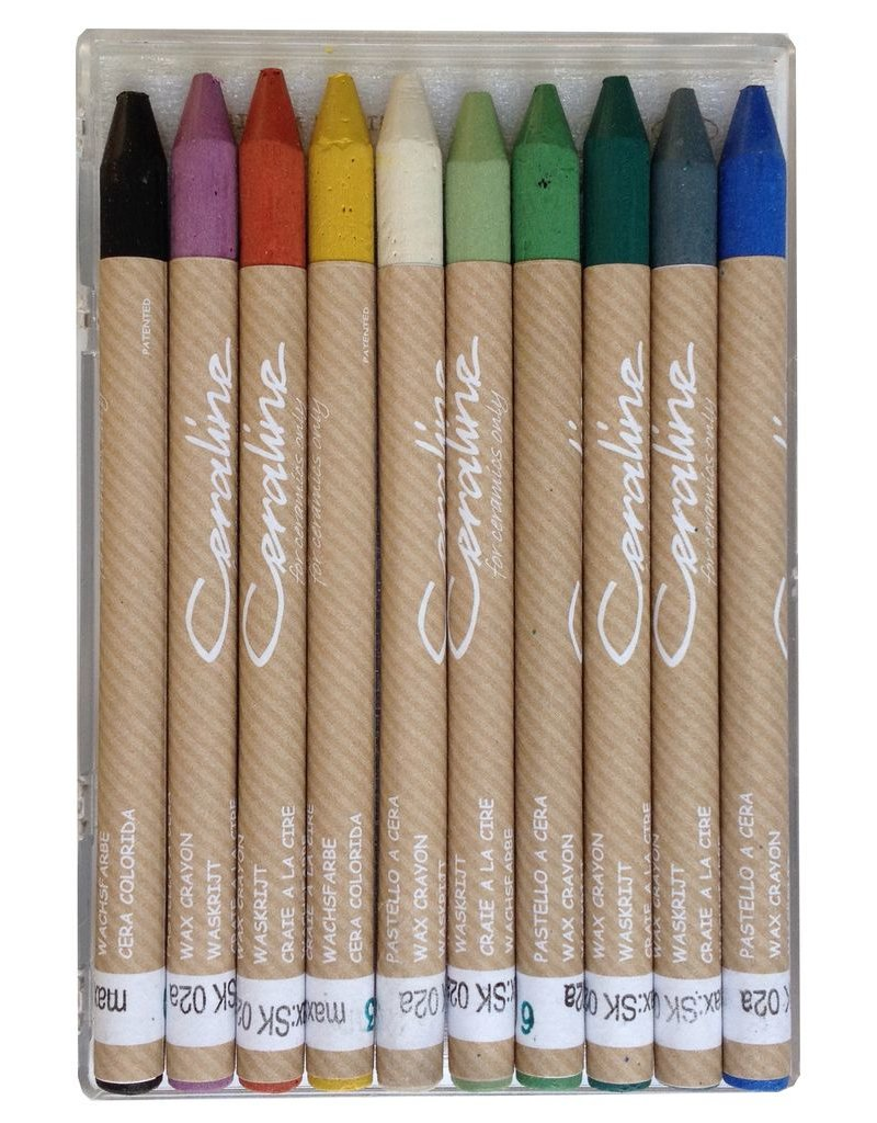 Ceraline Stoneware Crayons (10 colours)