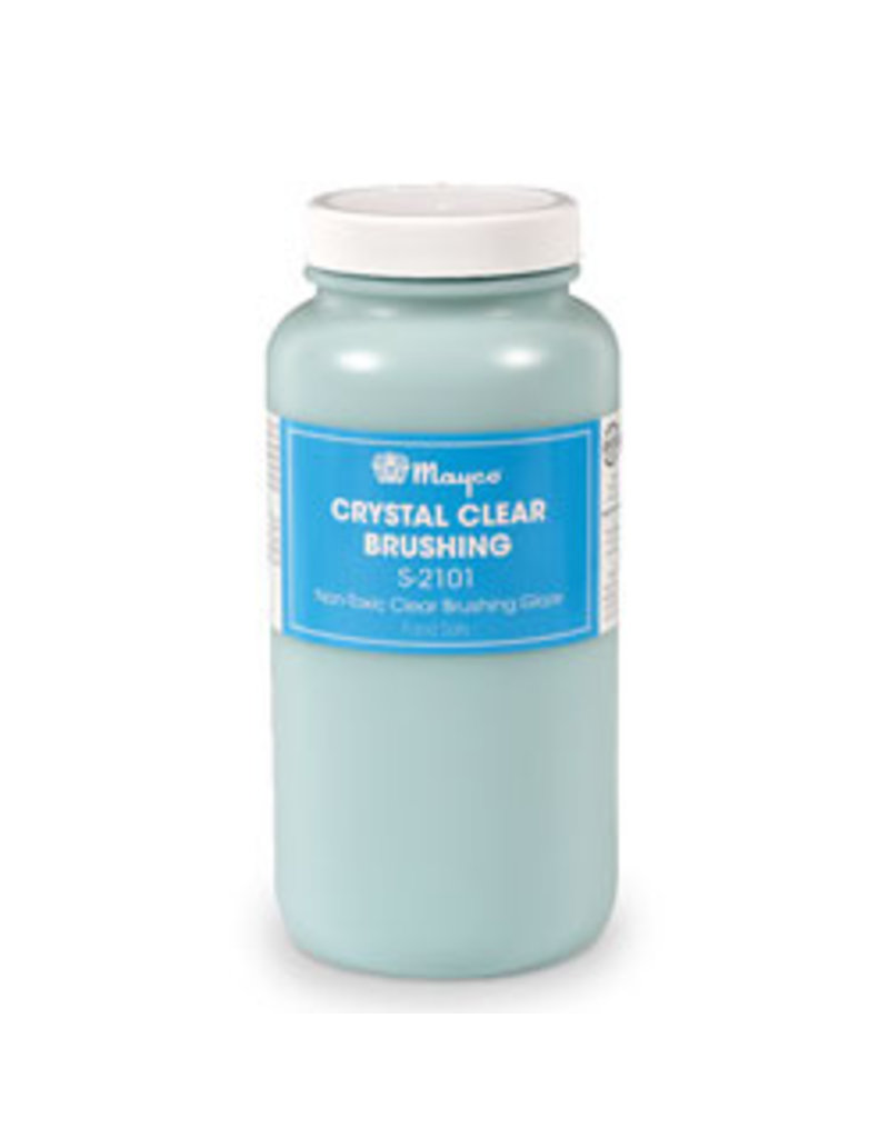 Mayco Crystal Clear Brush-on Glaze 473ml