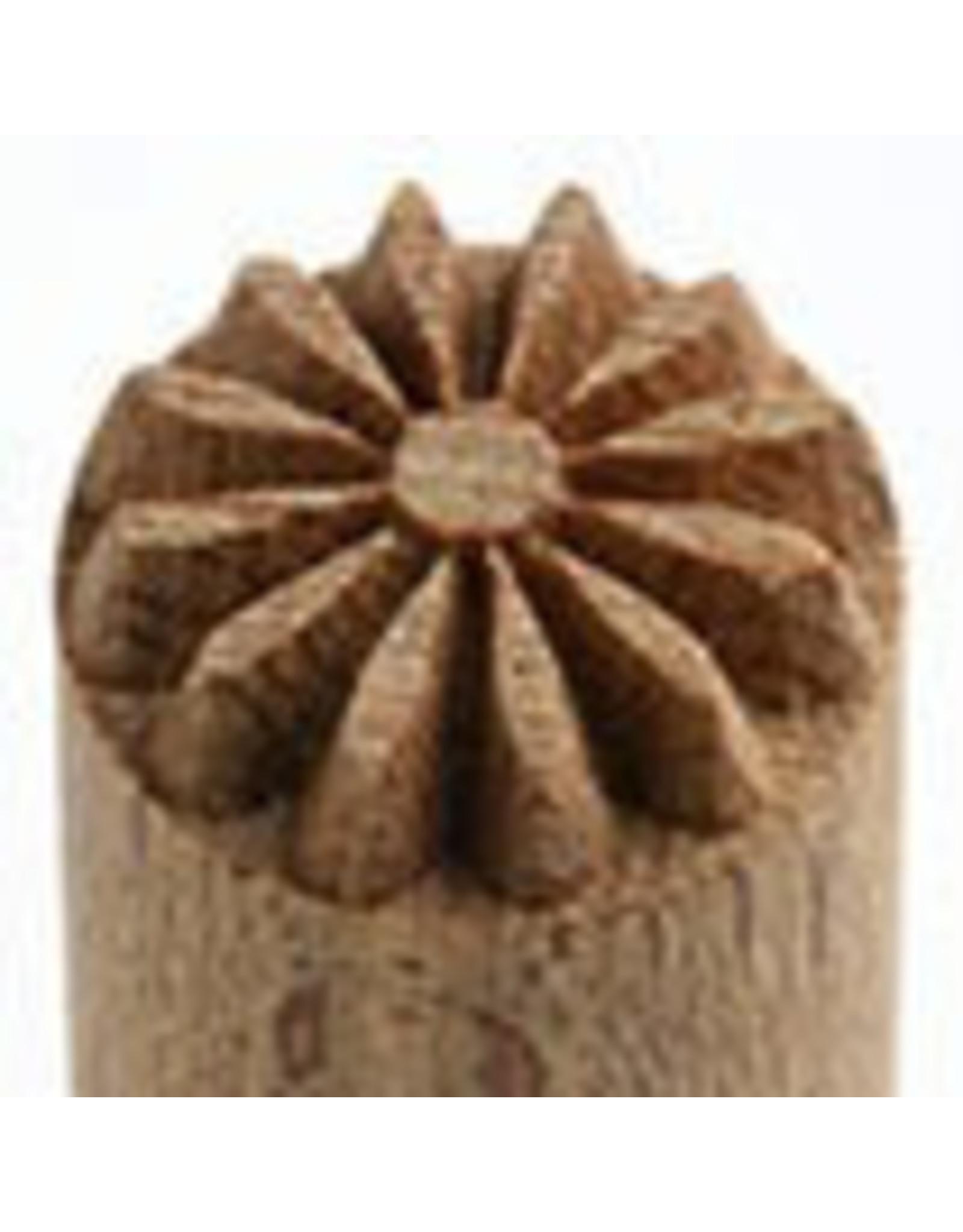 Debossed Flower Stamp