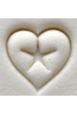 Heart with star Stamp