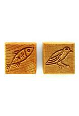 Bird & Fish Stamp