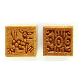 Dog and Square creature Stamp