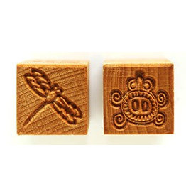 Dragonfly & stylised bug Stamp
