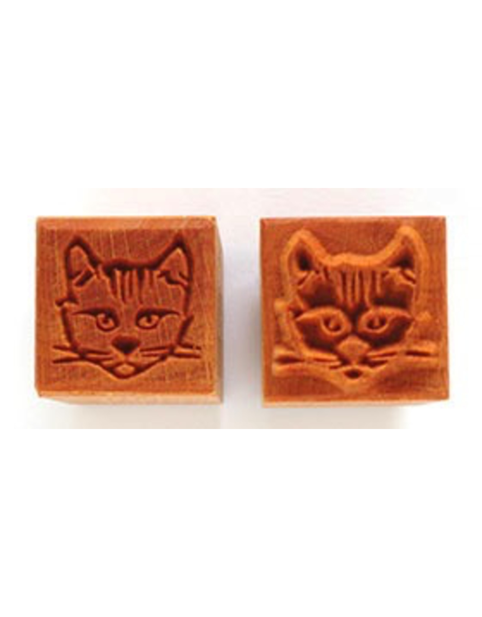 Cats face Stamp