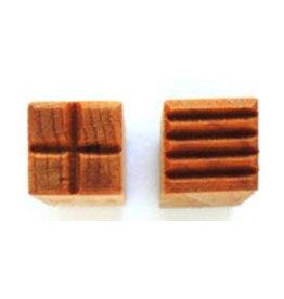 Lines & cross Stamp