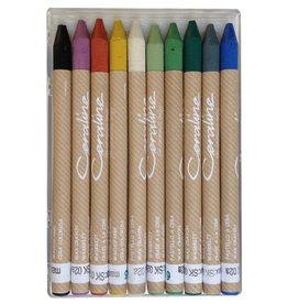 Ceraline Ceraline Earthenware Crayons  (10 colours)