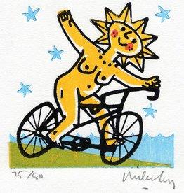 Brigid on a Bike
