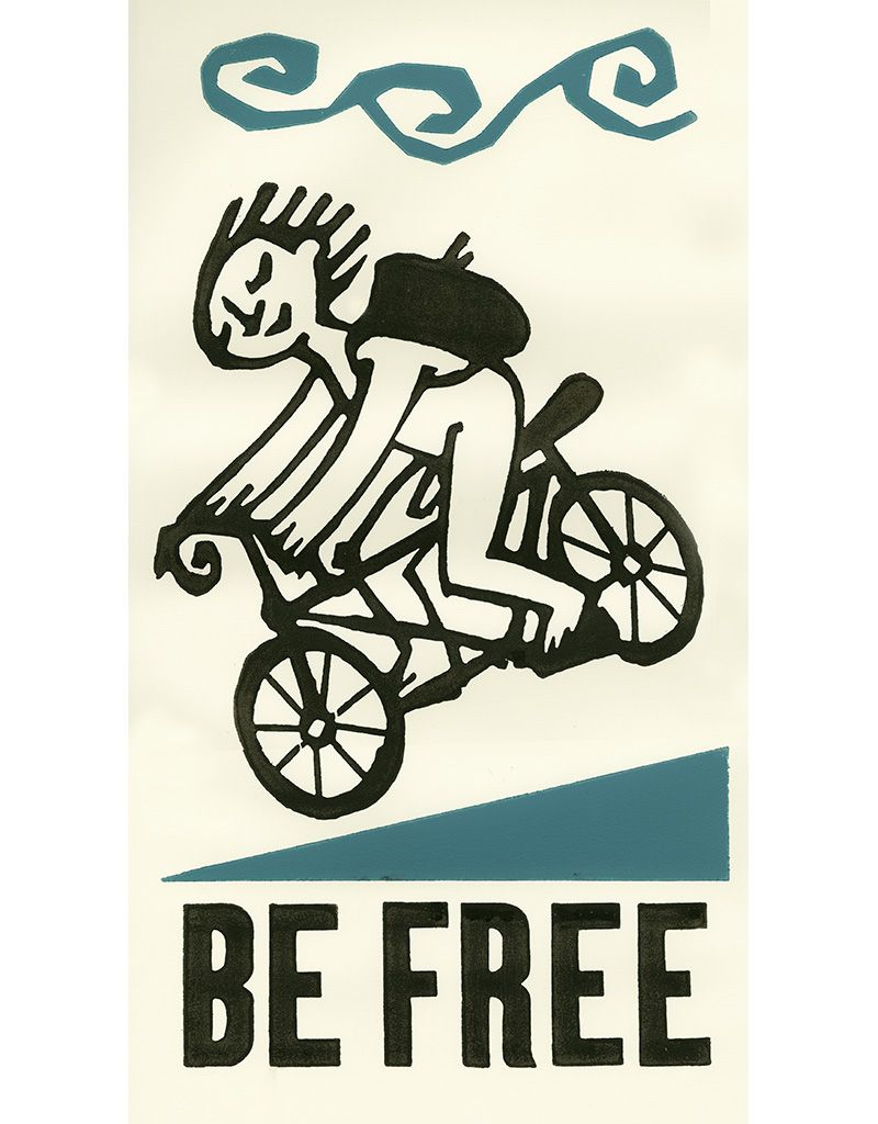 Be Free Naked Cyclist